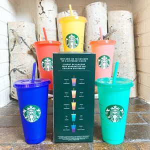 24 Hr Shipping Starbucks Color Changing 2020 Cups